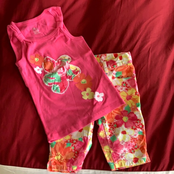 The Children's Place Bermuda shorts and Tank